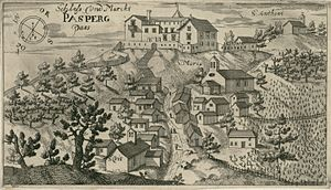 Paz, Croatia - Paz in an engraving from 1679.