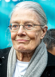 Vanessa Redgrave april 2016.