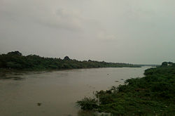 Vegavathi river at salur