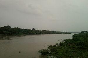 Salur - Vegavathi river at salur