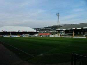 1993 New Zealand rugby league tour of Great Britain and France - Image: Vetch Field.DSC00100