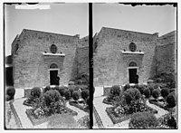 Via Dolorosa, beginning at St. Stephen's Gate. Cloister of Scourging. LOC matpc.05434.jpg