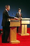 Vice President Bush debates with Michael Dukakis, Los Angeles, CA 13 Oct 88.jpg