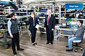 Vice President Pence at GM Ventec Ventilator Production Facility (49842214301).jpg