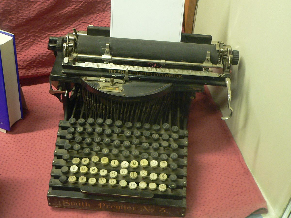 typewriter simple english wikipedia the free encyclopedia. Black Bedroom Furniture Sets. Home Design Ideas