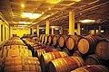 Vieillissement du vin en barriques neuves à Stellenbosch.jpg