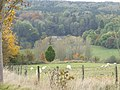 View across valley to Chedworth Roman villa site - geograph.org.uk - 1548551.jpg