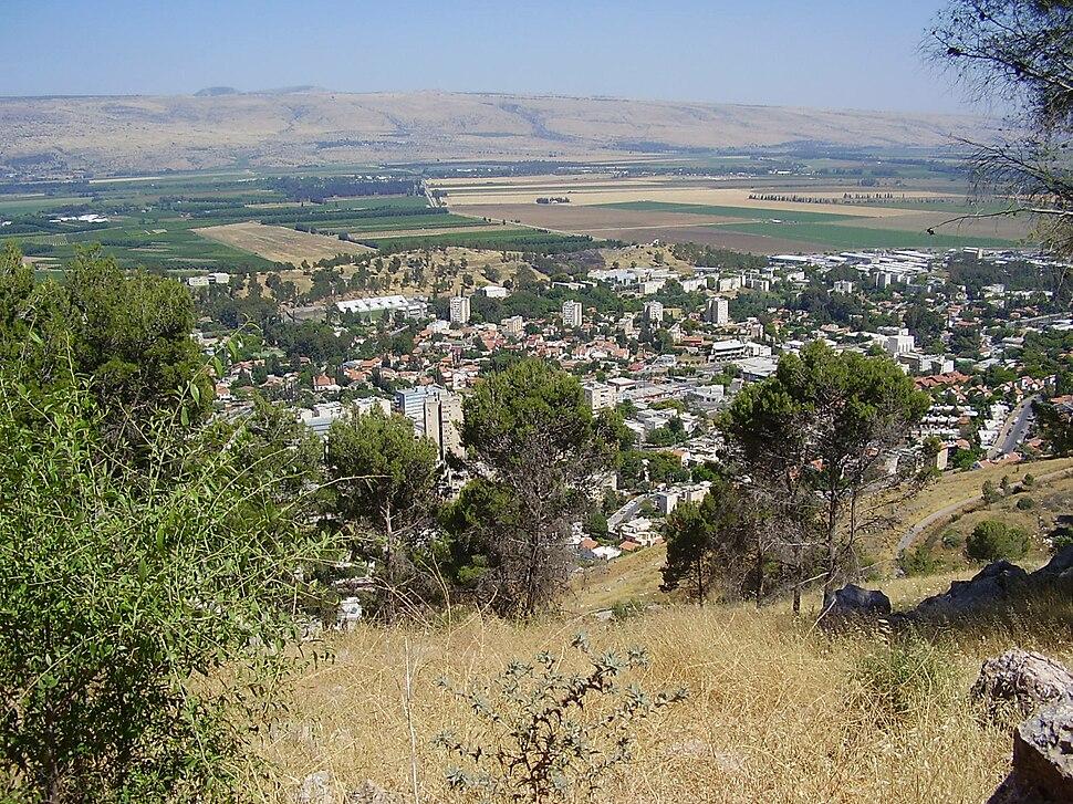 View from Mitzpe Liran