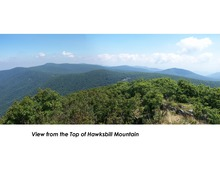 View from top of hawksbill.tif