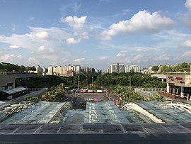 View in front of west entrance of Shenzhen North Station 5.jpg