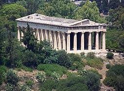 templo de Hefesto, Atenas,