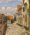 Viggo Johansen - Street in Dragør.jpg