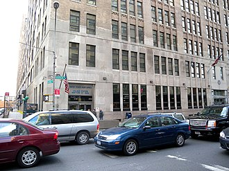 Varick Street - Federal building at 201 Varick Street, home of the Environmental Measurements Laboratory and Village Station post office