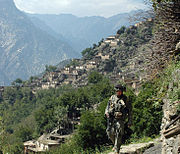 Village of Aranas, Nuristan province