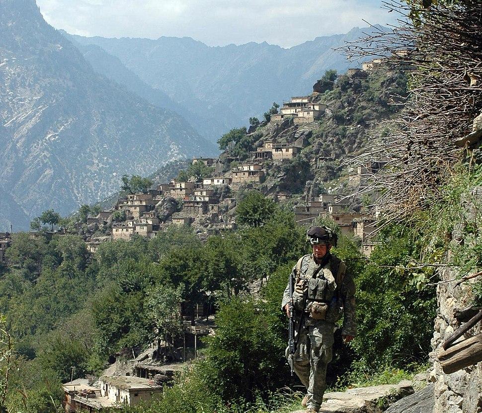 Village of Aranas, Nuristan province