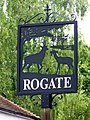 Village sign, Rogate - geograph.org.uk - 1336889.jpg