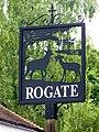 Village sign, Rogate - geograph.org.uk - 1336889.jpg