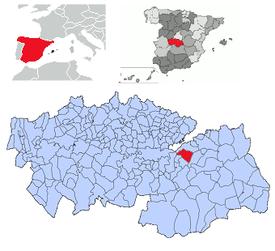 Situación dentro de la provincia
