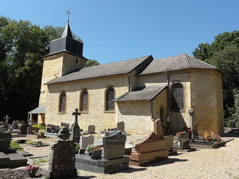 Ville-Houdlémont (Meurthe-et-M.) église Saint-Denis