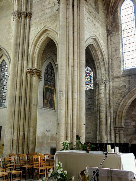 fichier villers saint paul 60 glise st paul transept vue vers la chapelle nord. Black Bedroom Furniture Sets. Home Design Ideas