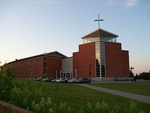 Vilnius St. Joseph Seminary - The seminary building