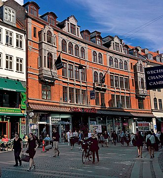 Jorcks Passage - The building viewed from Strøget