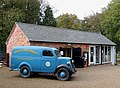 Vintage van and gift shop at Fradley, Staffordshire - geograph.org.uk - 1556569.jpg