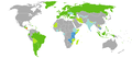 Visa requirements for Nicaragua citizens.png
