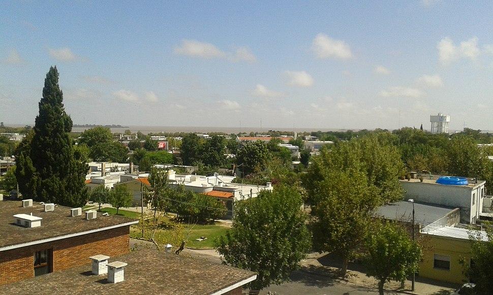 Vista de la ciudad de colonia