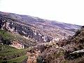 Vista desde la entrada de la cueva del Reguerillo, enero de 2006 02.jpg
