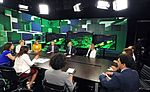 Vladimir Putin - Visit to Russia Today television channel 5.jpg