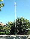vlaggenmast snouck van loosenpark, enkhuizen