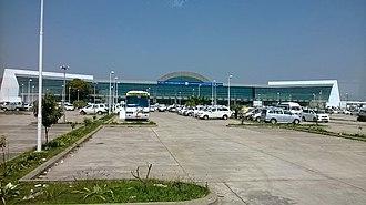 Lal Bahadur Shastri Airport - Image: Vns