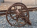 Volk's Electric Railway three old wheels.jpg