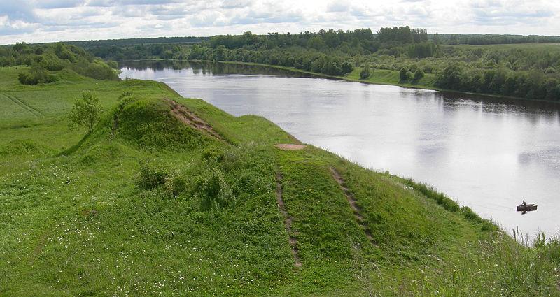 Холмы погребенных викингов