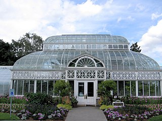 plant conservatory in Volunteer Park, Seattle