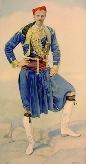 Vraka Crete Greek Costume