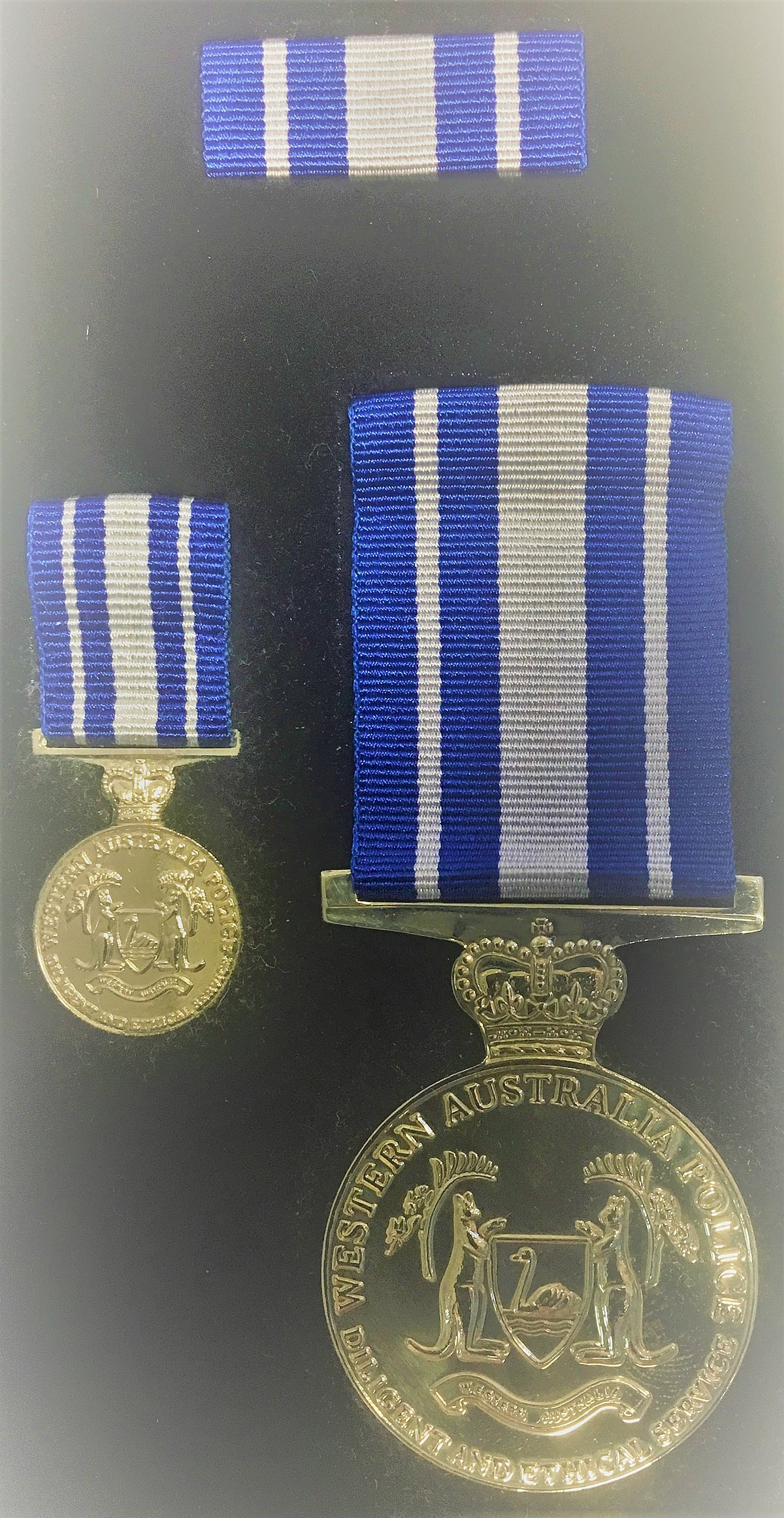 Western Australia Police Medal - Wikipedia