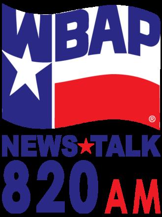 WBAP (AM) - Image: WBAP (AM) logo