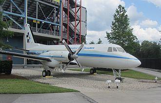 Grumman Gulfstream I - Walt Disney Company G-I on display in Florida