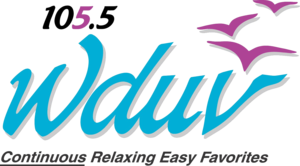 WDUV - Former logo of the radio station used between July 2000 and June 2012