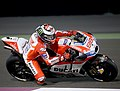 WOW! Jorge Lorenzo Guerrero, the professional Spanish Grand Prix motorcycle racer in action in the day 1 of Qatar Test at the Losail International Circuit, Doha, Qatar. (32993995070).jpg