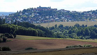 Waldeck, Hesse - Waldeck seen from the northeast
