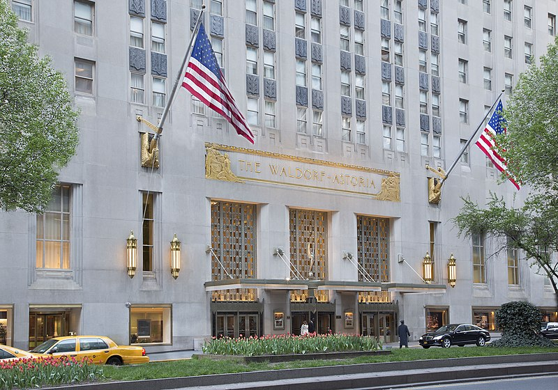 File:Waldorf-Astoria Park Avenue Entrance.jpg