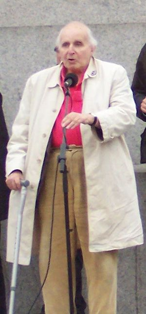 Walter Wolfgang - Wolfgang at a Stop the War demonstration in 2007