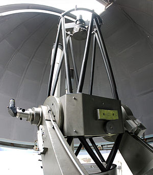 Nasmyth telescope - 56cm Nasmyth-Cassegrain Telescope at the Walter-Hohmann-Observatory in Essen, Germany