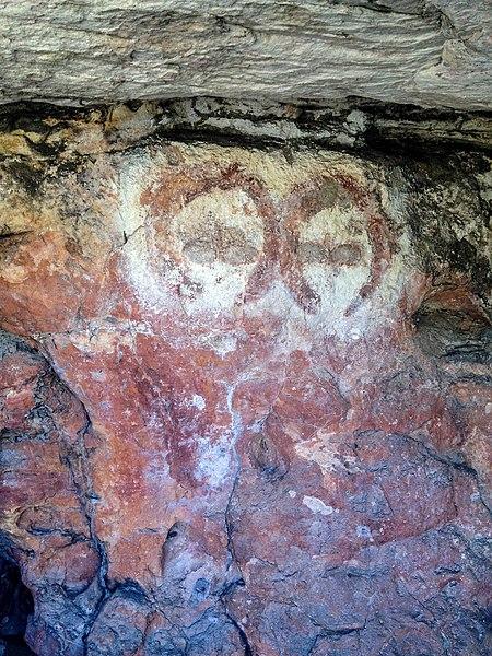 File:Wandjina rock art painting.jpg