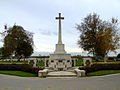War cross, St Quentin Cabaret Military cemetery.JPG