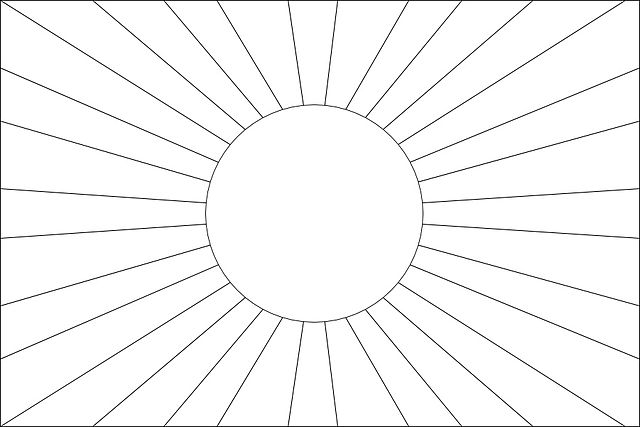 Image Result For Rising Sun Coloring