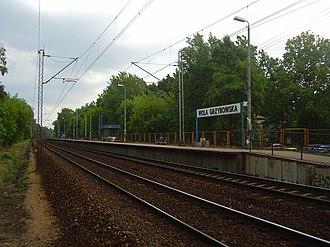 Warszawa Wola Grzybowska railway station - Image: Warszawa Wola Grzybowska train station